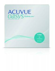 Acuvue Oasys 1 Day HydraLuxe 90 Front